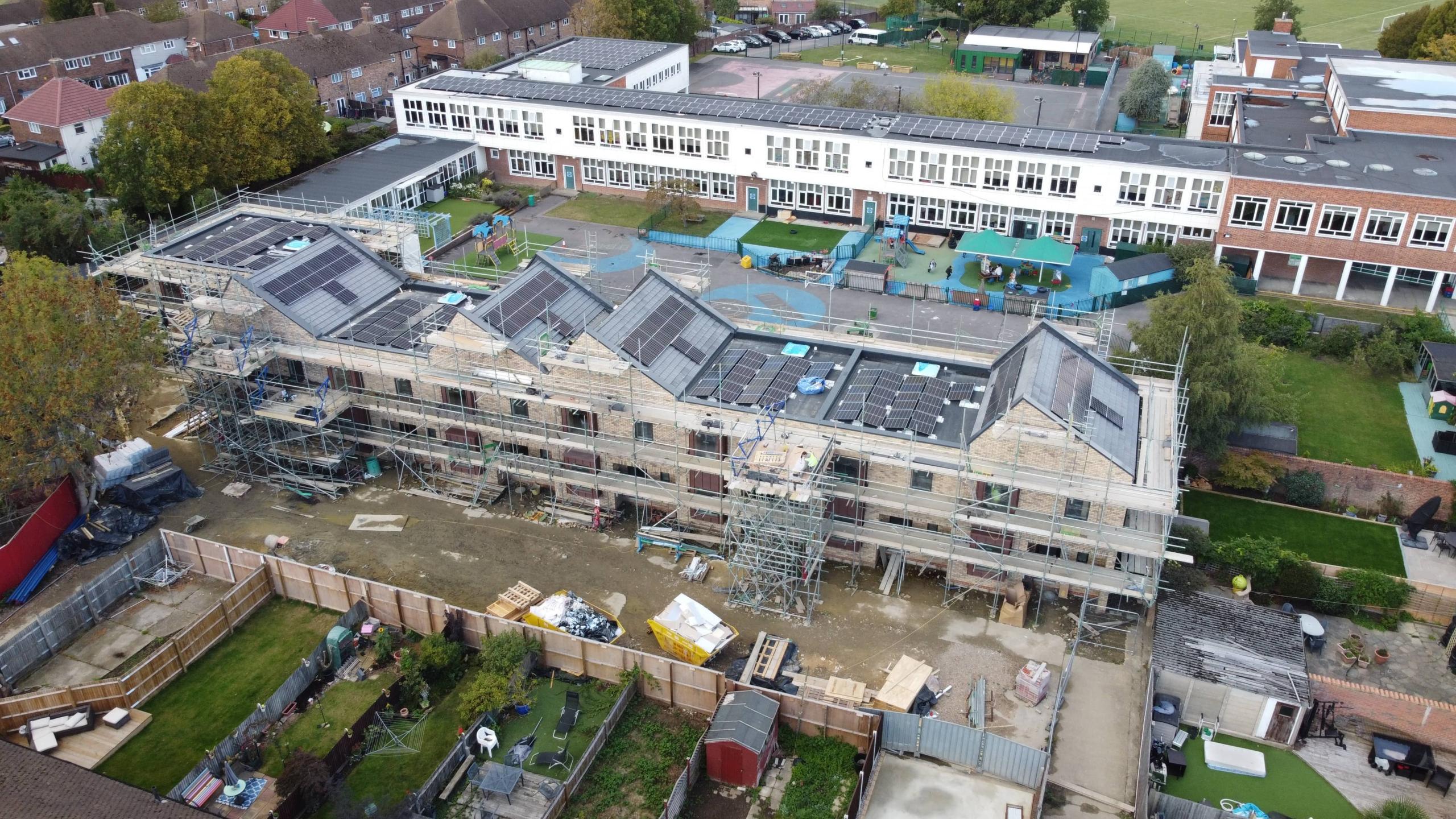 carbon-zero housing